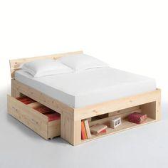 287€ lit avec rangements