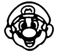 Super Mario Stencil by berakadeviantartcom on deviantART