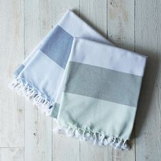 Bonbon Turkish Pestemal Towel on Provisions by Food52--totally amazing, love the stripes for summer.
