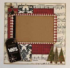 Merry and Bright Scrapbook Layout