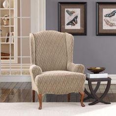 Bon Wingback Chair Slipcover