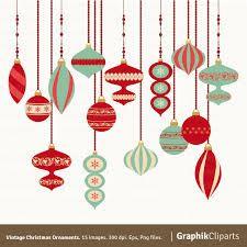 Resultado de imagen para christmas ornaments vector png