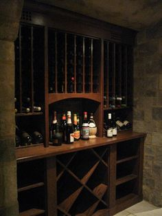 Wine Cellar Photos Wine Closet Design   Simple, Yet Nice