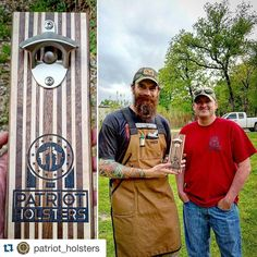 Hand delivered this one today to a great guy family and business. Keep up the great work brother!  #Repost @patriot_holsters with @repostapp.  Such an awesome gift from a fellow craftsman and active duty Patriot. Thank you @djs_woodshop for  visiting the shop today and the gift.  #thankful #patriot #bottleopener #brotherhood #MERICA #landofthefreebecauseofthebrave  #gift #handmade #handcrafted  #MADEINTEXAS #craftsmanship #quality #madeinusa #woodwork #patriotholsters #keepongrinding…