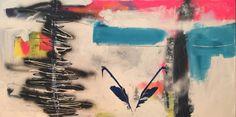 Run #nikicottonartdotcom #art #painting #abstract