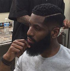 dica de cortes de cabelo masculino para negros com barba