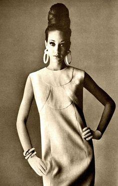 Marisa Berenson ♥ May 1965 #fashion #vintage #photography