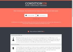 Conditionizr: the conditional free legacy, retina, script and style loader