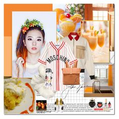 Tangarines by rainie-minnie on Polyvore featuring mode, Moschino, J.W. Anderson, Deux Lux, adidas, Stila, Yves Saint Laurent, Bobbi Brown Cosmetics and Aéropostale