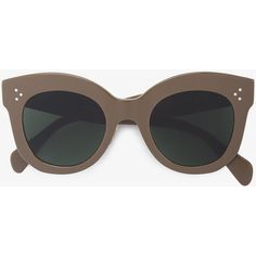 b672f4704d2 Céline Eyewear Oversized Frame Sunglasses (20.385 RUB) ❤ liked on Polyvore  featuring accessories