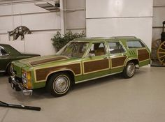 The Grizwald's Family Truckster- started life as an early 80's Ford LTD Country Squire