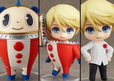 I must have this Nendoroid Teddy from Persona 4. Love, want, NEED!