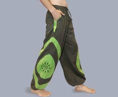 Thai Fisherman Pants in bag Yoga Thai Wrap pants Hippie Baggy Pants, Trousers, Men Pants, Hippie Pants, Hippie Boho, Modern Hippie, Pantalon Thai, Rave Pants, Thai Fisherman Pants