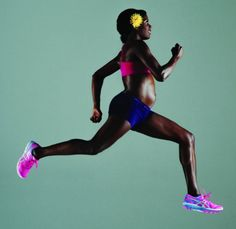 Alysia Montaño will race in the USATF Outdoor Championships 800 meters while pregnant for the second time. Running Magazine, Working Woman, Track And Field, Running Women, Triathlon, Woman Face, Pregnancy Photos, Stay Fit, Exercises