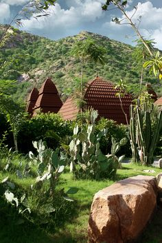 At Ananta spa & Resorts nature is diverse and varied yet symbolizes one language - life and revitalization of the earth.