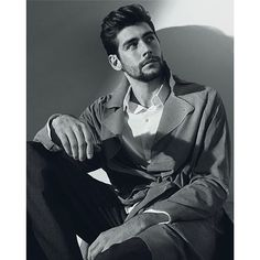 Handsome singer Alvaro Soler wearing Armani