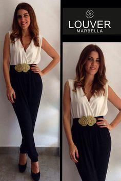 #Louvermarbella#mono#black&white#cinturonpasamaneria