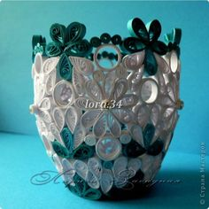 quilled cup