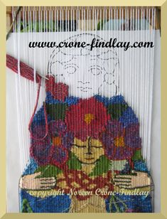 Weaving the Goddess tapestry by Noreen Crone-Findlay