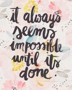 Because sometimes we just need some words of motivation to kick start the week (well,...