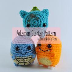 Pattern | Original Starter Pokemon Set | Marshmallow edition by…