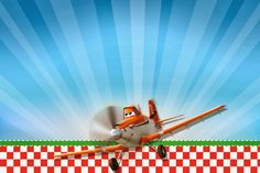 Planes (Disney): Free Printable Cards or Invitations. | Oh My Fiesta! in english