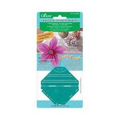 Clover - Clover - Kanzashi - Fleurs en tissu - Grand pétal en pointe: Amazon.fr: Cuisine & Maison