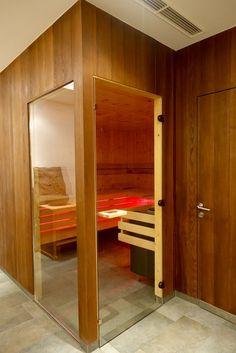 Blick in die Sauna - Rivus Appartements Leogang, Österreich.