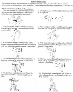 passive rom shoulder exercises pictures | elbow range of motion,strengthening and endurance. Theraband exercises ...
