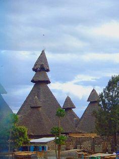 Houses, Mombassa, Kenya