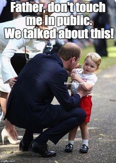 The Inner Duchess of Kate Middleton, Baby King's Embarrassment