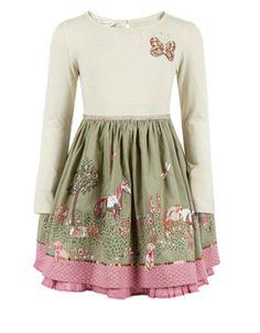 Rosette 2 In 1 Horse Dress