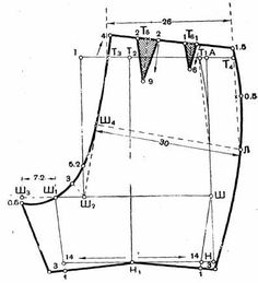 Construcción del Patrón Fig. 1 Muestra los pantalones cortos femenino. Para la construcción de un dibujo de los patrones (t... Clothing Patterns, Dress Patterns, Barbie Vintage, Diy Shorts, Fashion Vocabulary, Mccalls Sewing Patterns, Pattern Drafting, Fashion Sewing, Pin Up Girls