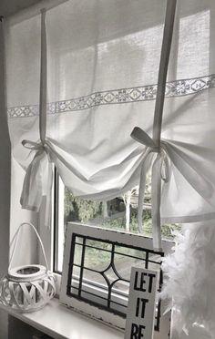 Sliding Curtains, Diy Curtains, Kitchen Curtains, Rideaux Shabby Chic, Multipurpose Furniture, Diy Casa, Ideas Hogar, Creation Deco, Modern Curtains