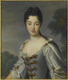 1709 Marie-Adelaide de Savoie, duchesse de Bourgogne, dauphine en 1711 (1685-1712)