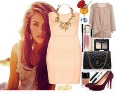 """Megan Fox"" by martaminocci ❤ liked on Polyvore"