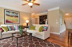 Cypress III Family Room from Eastwood Homes!