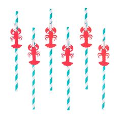 Under The Sea Party Supplies, from Dolphin Balloons to Sparkly Mermaid Plates. Discover more online with express delivery. Lobster Party, Seafood Party, Party Shop Online, Party Themes, Theme Ideas, Ideas Party, Under The Sea Party, Paper Straws, Pirate Party