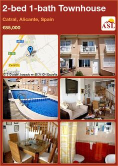 2-bed 1-bath Townhouse in Catral, Alicante, Spain ►€85,000 #PropertyForSaleInSpain