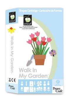 Walk in My Garden Cricut Cartridge