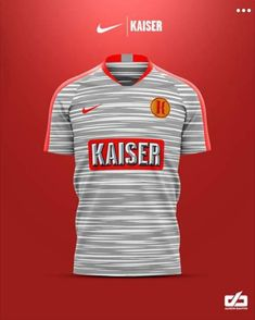 Football Kits, Football Jerseys, Sports Jersey Design, Asics, T Shirt, Concept, Landscaping, Beer, Marketing