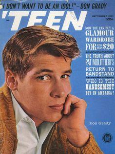 'Teen magazine Sept. 1961 — Don Grady