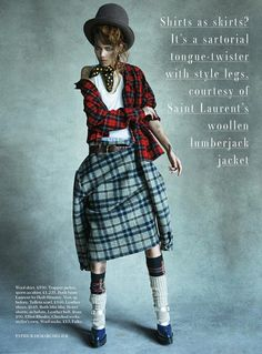 Freja Beha for Vogue UK August 2013 by Patrick Demarchelier | The Fashionography