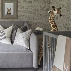 Considering a career in interior design? Then you'll want to subscribe to our Kuotes blog for ways to start or grow your business. Oh, and THIS nursery by one of our favorite interior designers Sophie Paterson Interiors is killing it.