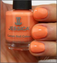 Jessica NEW Coral Symphony Collection shade Monsoon Melon.