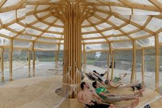 Chinoiserie: A Breezy Pop-Up Shelter Inspired by Mongolian Yurts | Inhabitat - Sustainable Design Innovation, Eco Architecture, Green Building