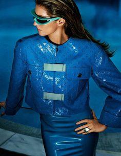 Vogue Paris June 2017 Gisele Bundchen by Mario Testino - Fashion Editorials