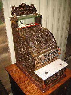 1912 National Cash Register model 313 Candy Store Fountain Soda Jerk Drug Store | eBay