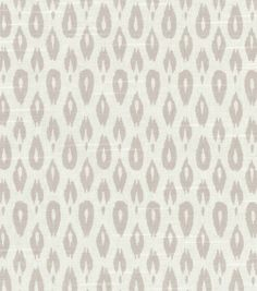 for the chairs: Nate Berkus Home Decor Print Fabric- Indre Lynwood Dove Grey
