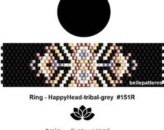 peyote ring patternPDF-Download 265R beading pattern